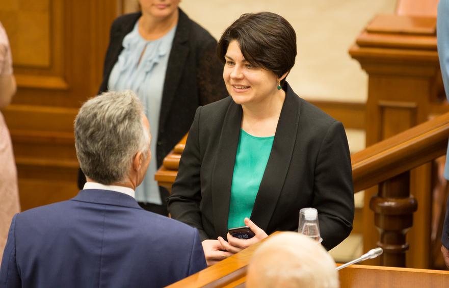 Natalia Gavriliţă, ministrul Finanţelor din R. Moldova