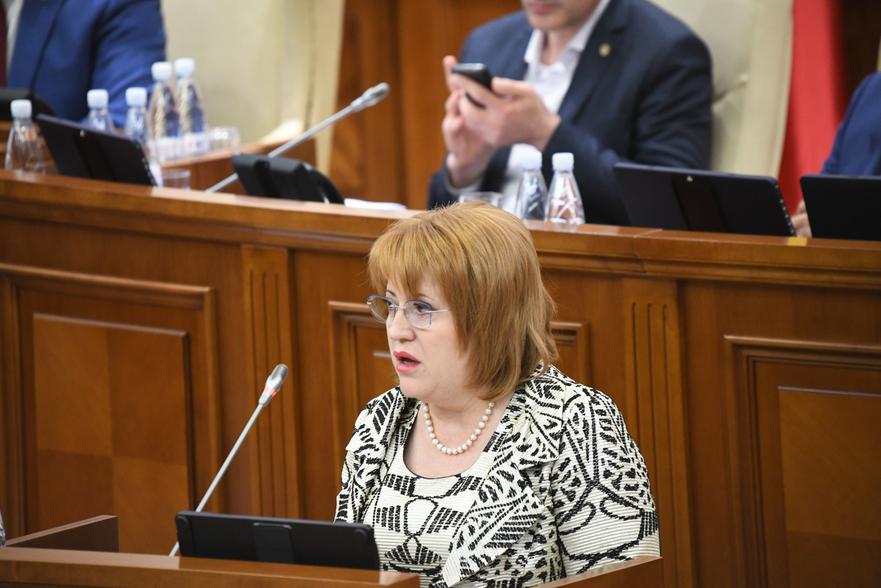 Domnica Manole, judecător la Curtea Constituţională a Moldovei