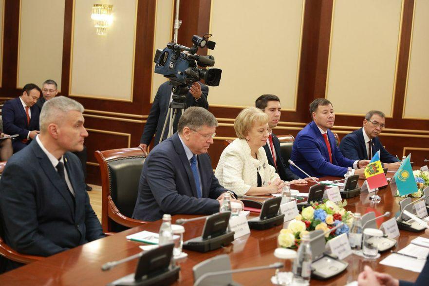 Delegaţia parlamentară a R. Moldova la forumul preşedinţilor de parlament din ţările Euroasiatice (Kazahstan), 23.09.2019
