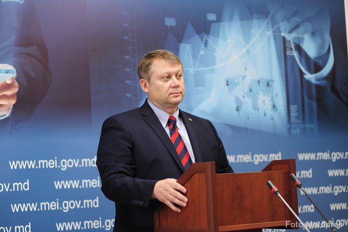 Vadim Brînzan, ministrul Economiei şi Infrastructurii al R. Moldova