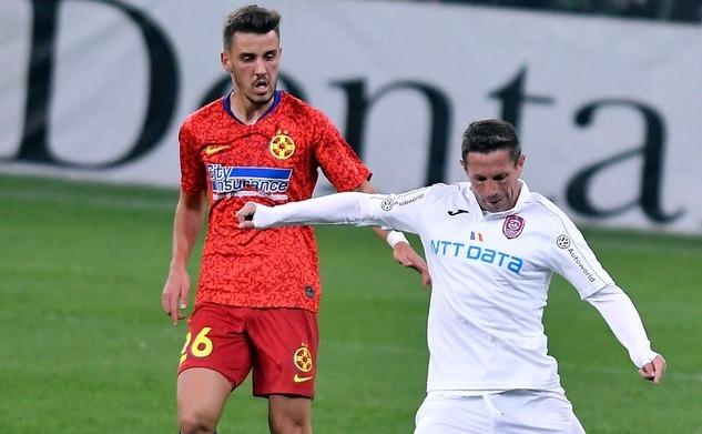 FCSB - CFR Cluj 0-0,  în etapa a 10-a a Ligii I de fotbal.