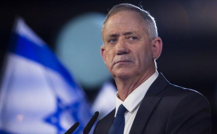 Generalul (r) Benny Ganz, liderul partidului centrist Albastru şi Alb