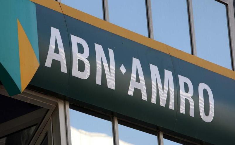 Logo-ul băncii ABN Amro