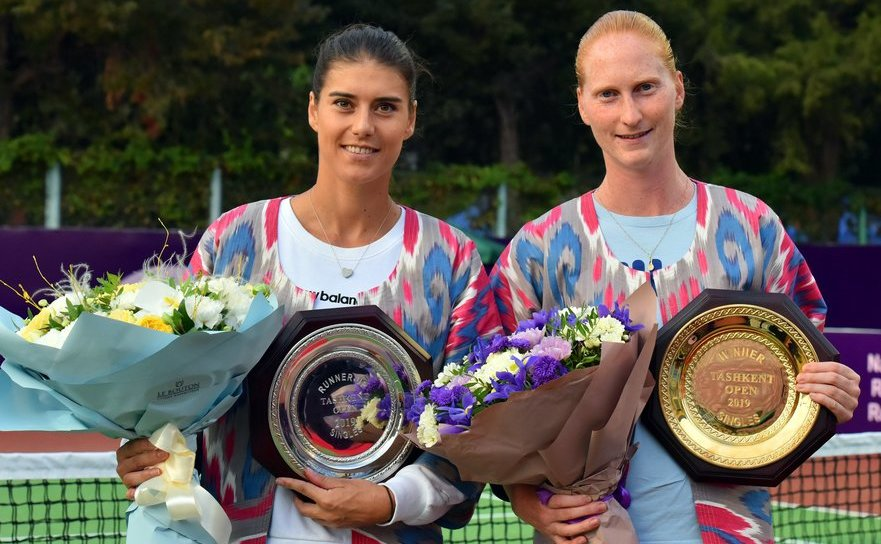 Sorana Cîrstea şi belgianca  Alison van Uytvanck la Tashkent Tennis.