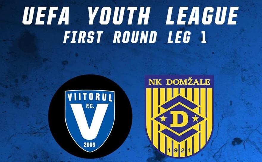 FC Viitorul Constanţa - NK   Domzale, 0-0, în   turul întâi al competiţiei Youth League la fotbal.