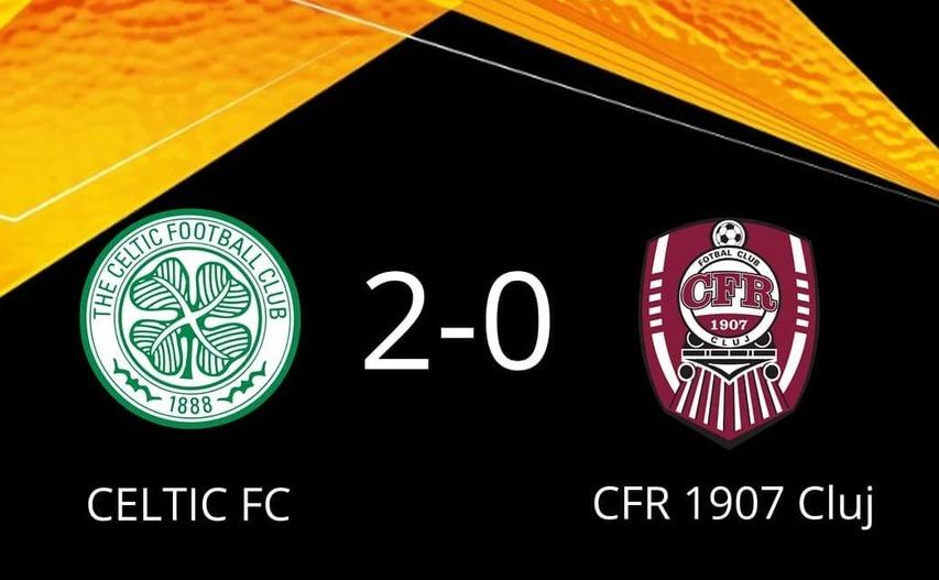 Celtic - CFR Cluj 2-0, în Europa League la fotbal.