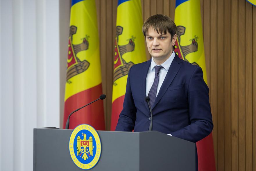 Andrei Spînu, Secretarul General al Guvernului R. Moldova