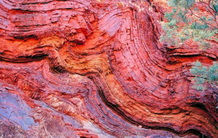Roci din regiunea Pilbara, nord-vestul Australiei