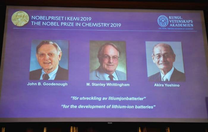 Premiul Nobel pentru Chimie 2019