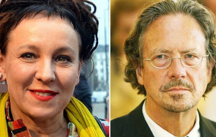 Olga Tokarczuk şi Peter Handke