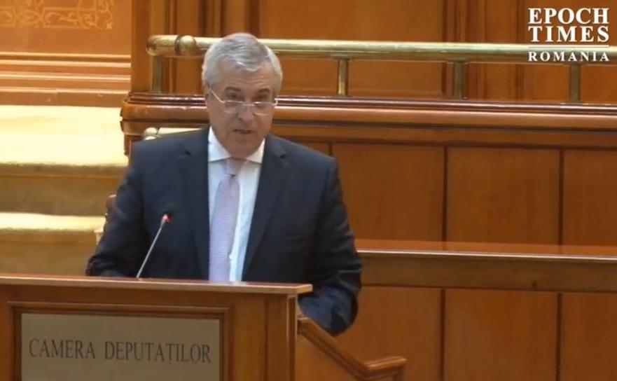 Liderul ALDE Calin Popescu Tariceanu