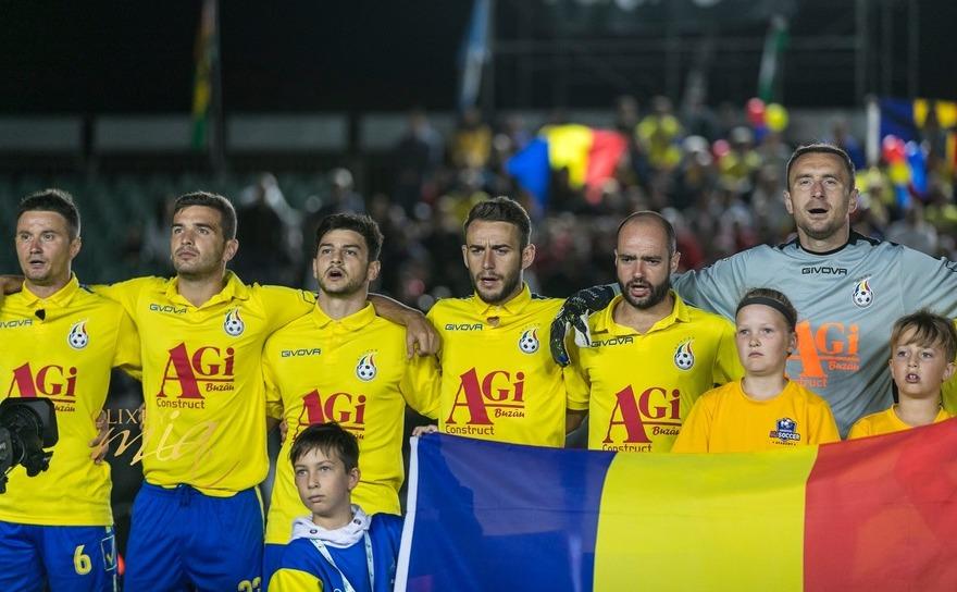 Echipa naţională de minifotbal a României.