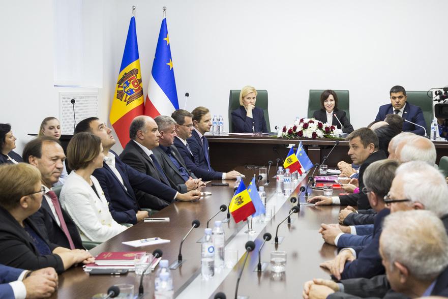 Maia Sandu, la întrevedere cu autorităţile locale din Găgăuzia