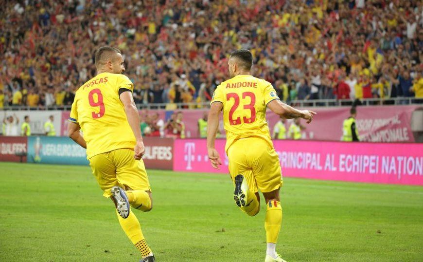 Insulele Feroe - România 0-3 (0-0) în Grupa F a preliminariilor EURO 2020 la fotbal.
