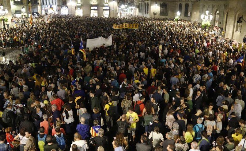 Proteste în Barcelona, după verdictul dat de Curtea Supremă liderilor separatişti
