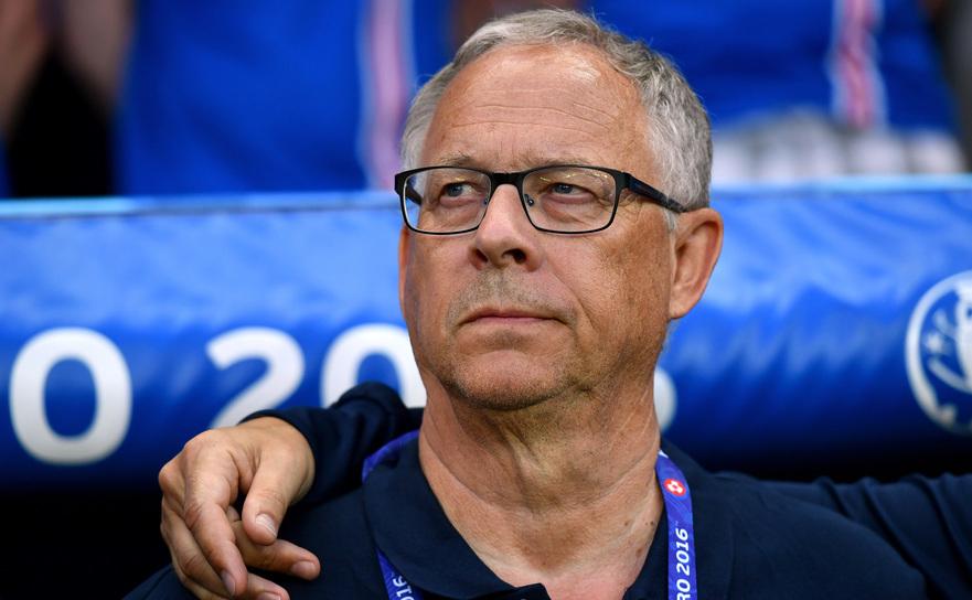 Selectionerul naţionalei de fotbal a Norvegiei, Lars Lagerback.