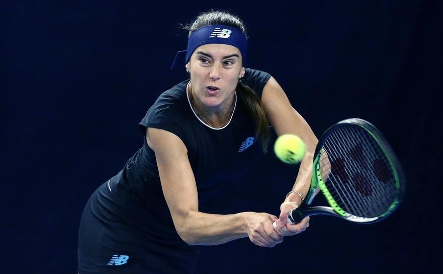 Jucătoarea română de tenis Sorana Cârstea.