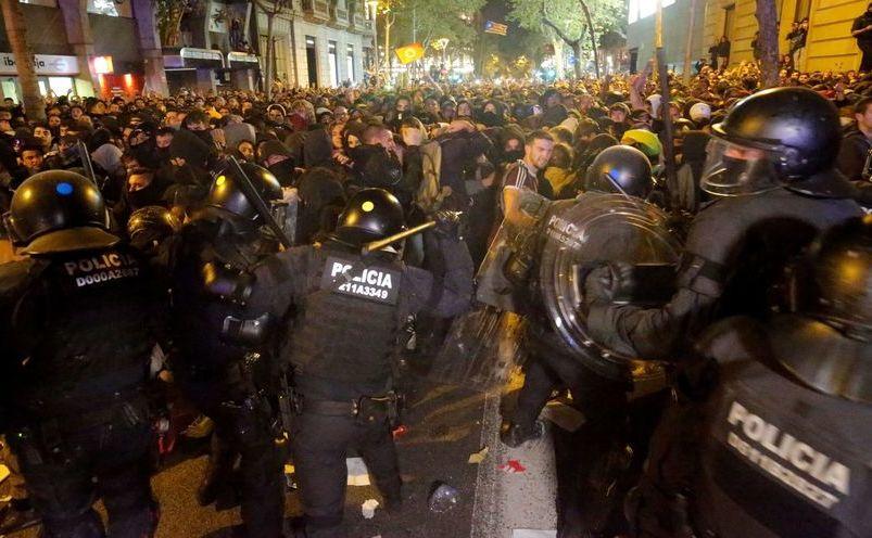 Proteste în urma condamnărilor liderilor catalani cu ani grei de închisoare