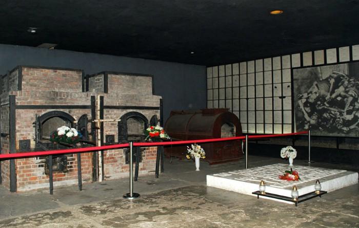 Crematoriul lagărului de concentrare Stutthof