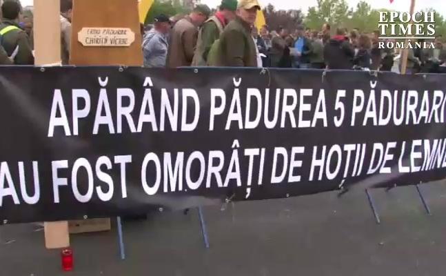 Protest silvicultori