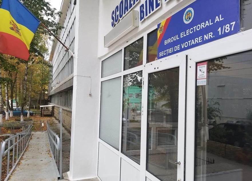 Alegeri locale generale în R. Moldova 20.10.2019, secţie de votare la Chişinău
