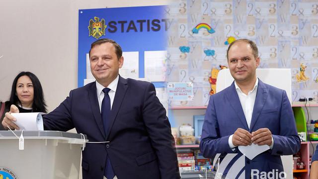 Andrei Năstase şi Ion Ceban
