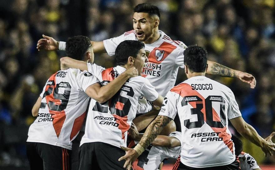River Plate calificată în finala Copa Libertadores în dauna eşecului cu 0-1 înregistrat în faţa celor de la Boca Juniors.