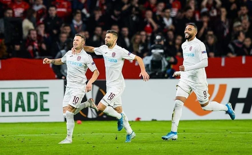 Rennes - CFR Cluj 0-1, în etapa a treia a grupelor Europa League.