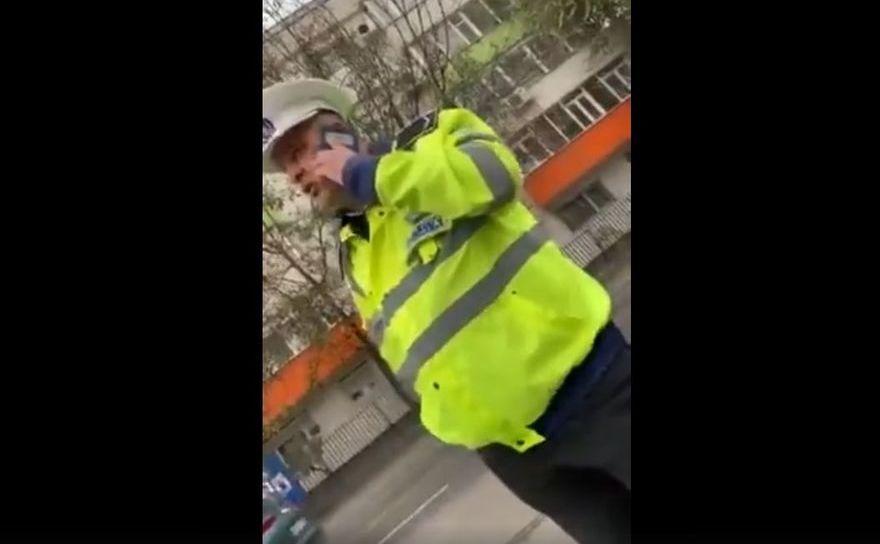 Poliţistul local care a refuzat legitimarea