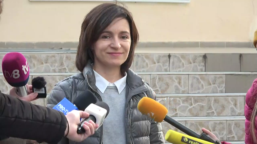 Maia Sandu, prim-ministrul R. Moldova