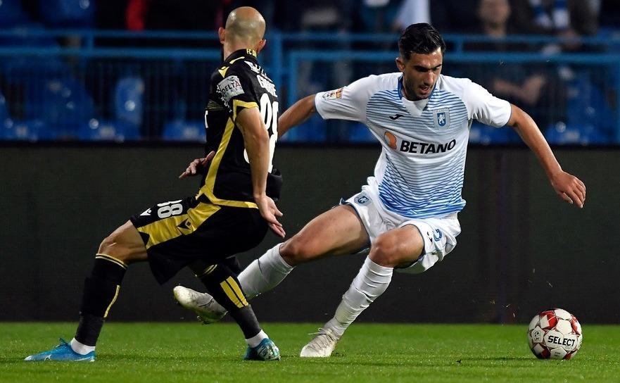 Universitatea Craiova - Dinamo 4-1 în etapa a 15-a a Ligii I de fotbal.