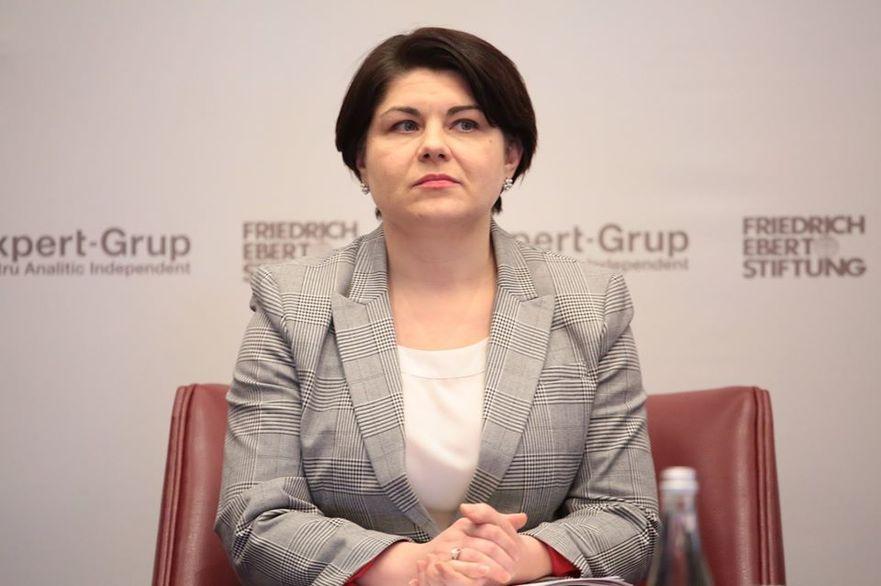 Natalia Gavriliţa, ministrul Finanţelor al R. Moldova