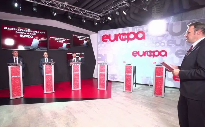 Dezbatere electorală la Europa FM, 7 noiembrie 2019