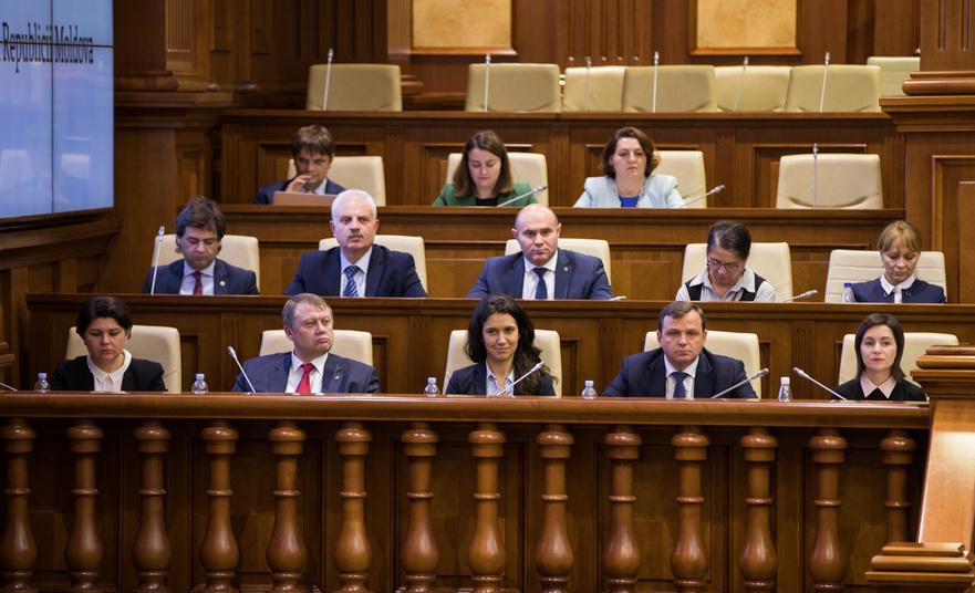 Cabinetul de miniştri de la Chişinău condus de Maia Sandu