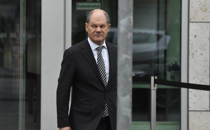 Olaf Scholz, ministrul german al Finanţelor