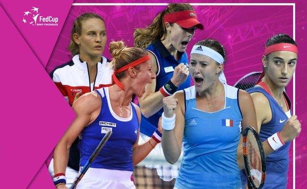 Franţa a cucerit trofeul Fed Cup.