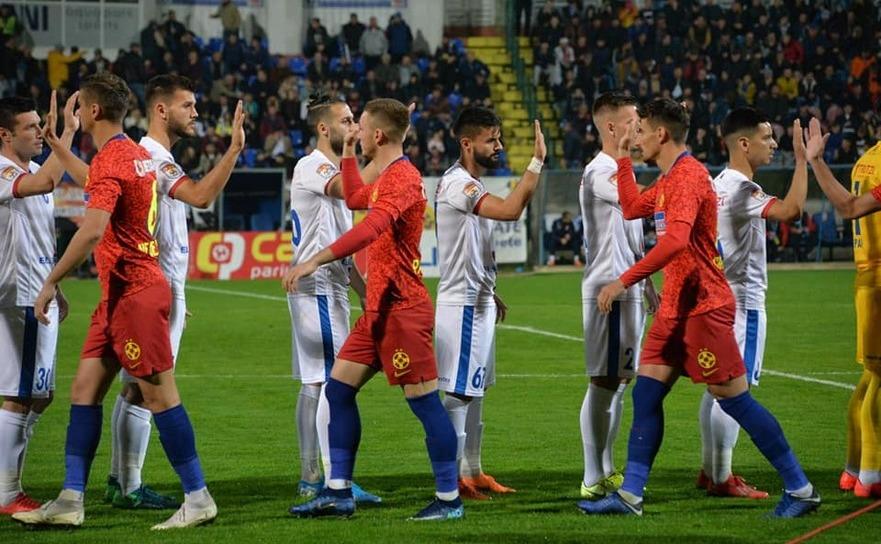 FC Botoşani - FCSB 0-2 în etapa a 16-a a Ligii I de fotbal.