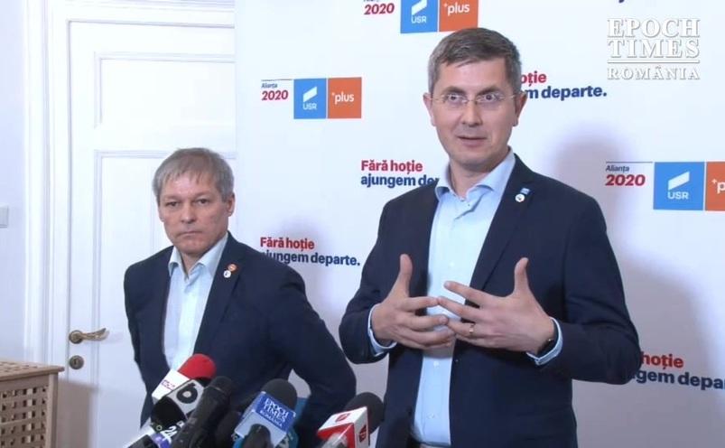 Dan Barna şi Dacian Cioloş