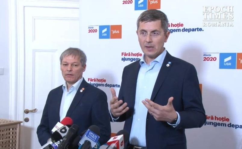 Dacian Cioloş şi Dan Barna