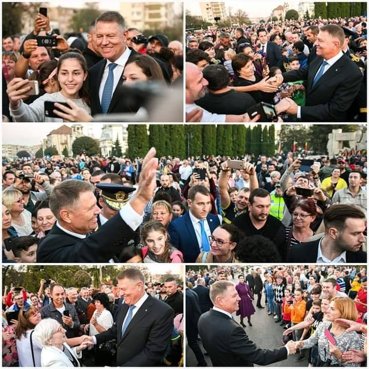 Klaus Iohannis prefera in aceasta campanie electorala intalnirea directa cu cetatenii decat dezbaterile televizate.