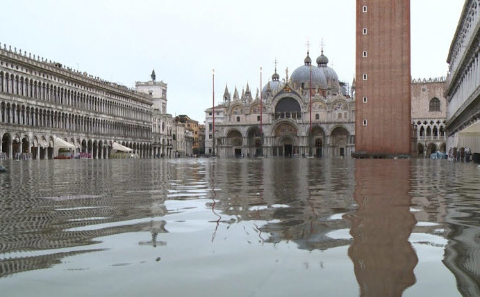 Veneţia sub ape, 13 noiembrie 2019