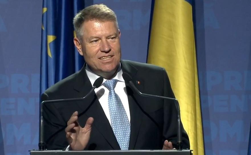 Presedintele Klaus Iohannis la mitingul de la Baia Mare
