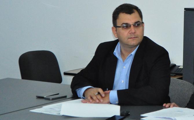 Constantin Mândrilă, directorul Spitalului Judeţean Sfântul Pantelimon Focşani