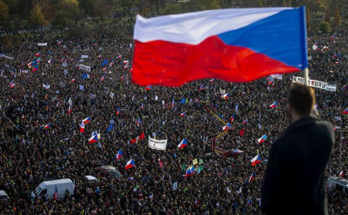 Aniversarea Revoluţiei de catifea, Praga