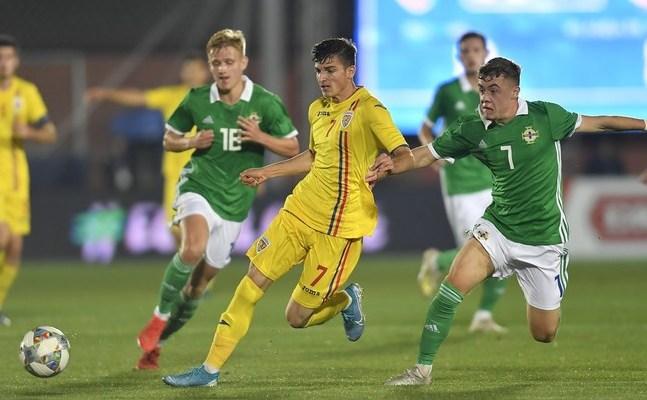 România - Irlanda de Nord 0-0, în preliminariilor EURO Under-21 din 2021.