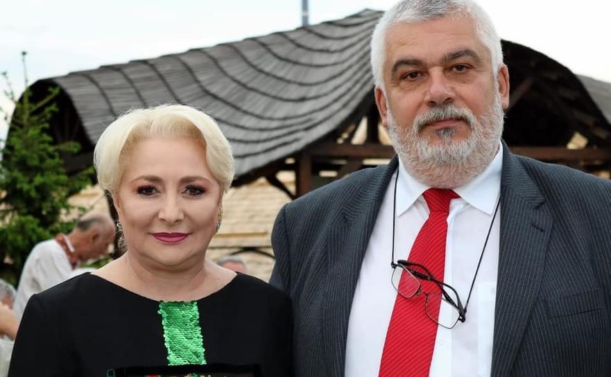 Viorica Dancilă şi Călin Andrei, deputat PSD de Maramureş