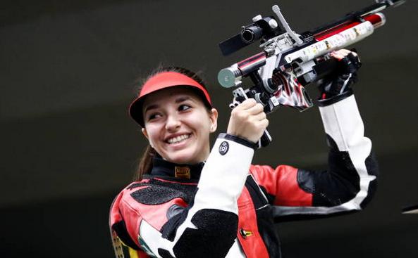Sportiva română Laura Coman.