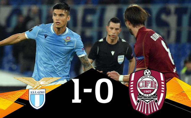 Lazio Roma - CFR Cluj 1-0, în Europa League.
