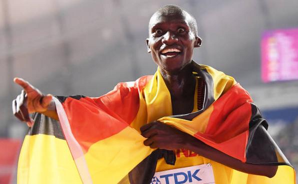 Atletul ugandez Joshua  Cheptege.