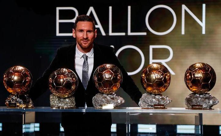 Fotbalistul argentinian Lionel Messi a cucerit al şaselea său Balon de Aur.